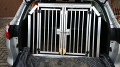 Hundetransportbox für Ford Focus Turnier