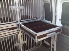 hundetransportbox Schublade