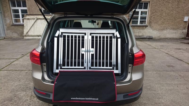 hundetransportboxen f r vw faustmann hundeboxen. Black Bedroom Furniture Sets. Home Design Ideas