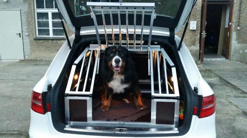 Hundetransportboxen F 252 R Audi Faustmann Hundeboxen